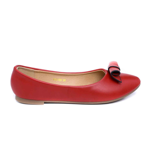 Stylo-Maroon Color Winter Pumps WN0192