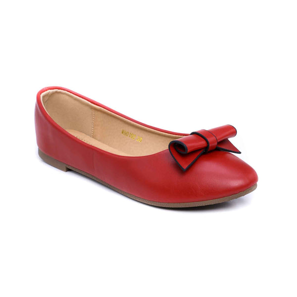 Buy Maroon Color Winter Pumps WN0192 at Shapago