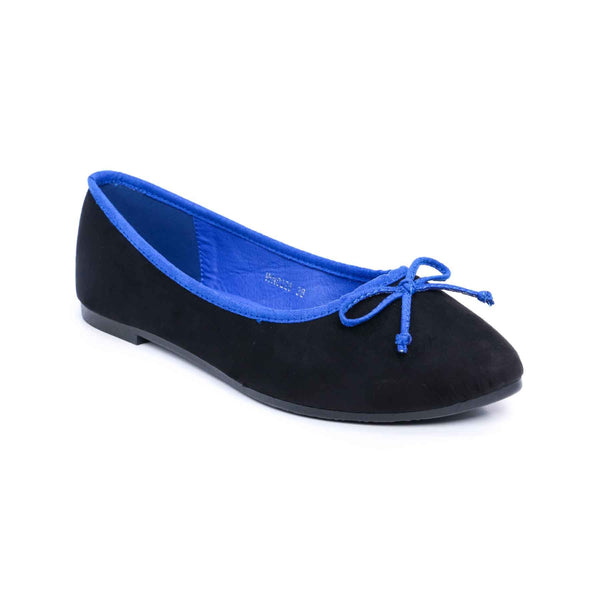 Buy Blue Color Winter Pumps WN0226 at Shapago