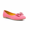 Buy Pink Color Winter Pumps WN0233 at Shapago