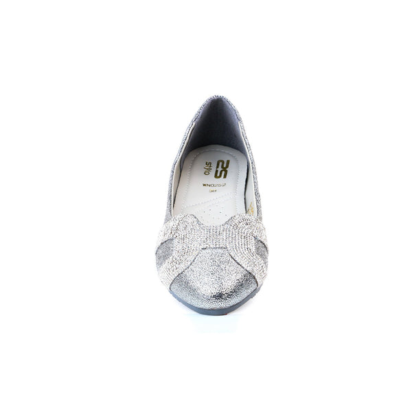 Stylo-Silver Color Winter Pumps WN0252