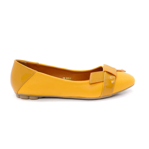 Stylo-Mustard Color Winter Pumps WN0264