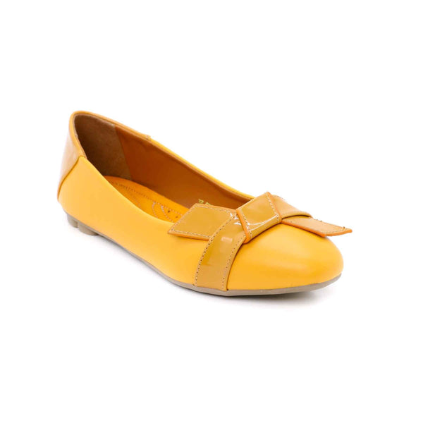 Buy Mustard Color Winter Pumps WN0264 at Shapago