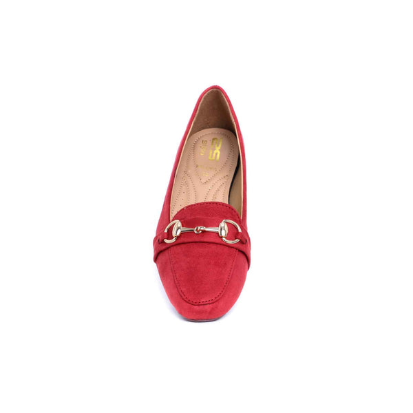 Stylo-Maroon Color Winter Pumps WN0265