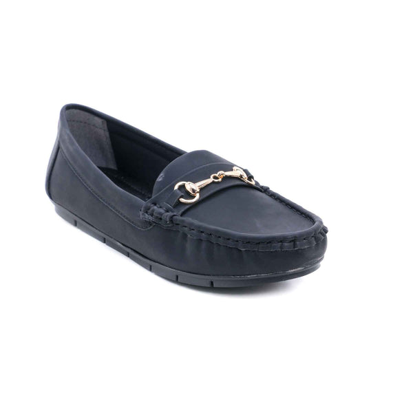 Buy Black Color Winter Mocassion WN4063 at Shapago