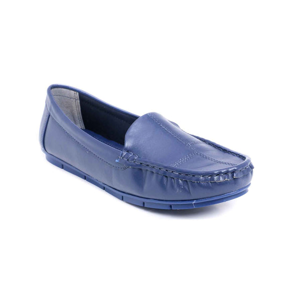 Buy Blue Color Winter Mocassion WN4074 at Shapago