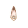 Stylo-Golden Color Fancy Court Shoes WN7020
