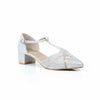 Buy Silver Color Winter Court Shoes WN7138 at Shapago