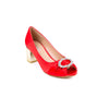 Buy Red Color Formal Peeptos WN8012 at Shapago