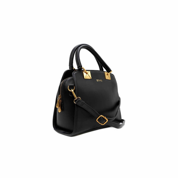 Buy Black Color Bags Hand Bags P34685 at Shapago