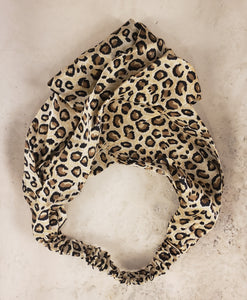 Mulberry Silk Twist Top - Headband