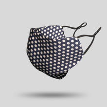 Load image into Gallery viewer, Mulberry Silk Face Mask - Polka Dot - 22Silk