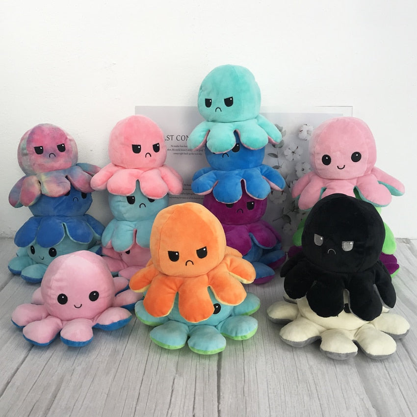 Reversible Plush Octopus