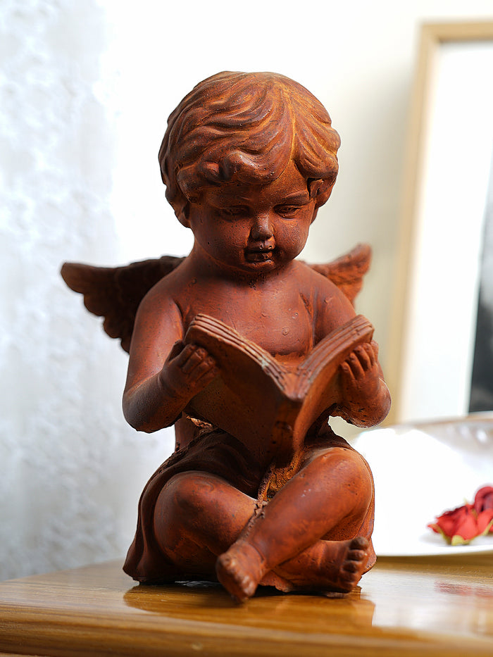 Rustic angle reading book - medium