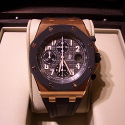 Audemars Piguet off shore royal oak oro rosa ref.25940