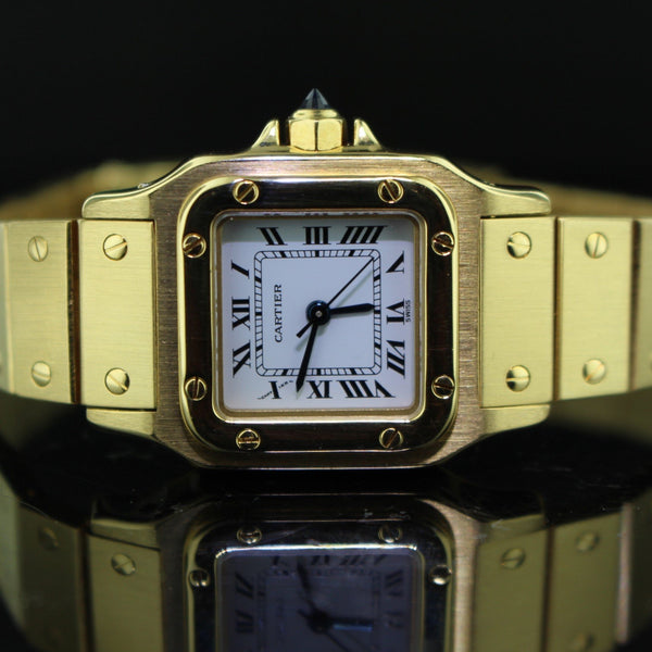 Cartier Santos Lady oro giallo
