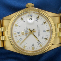 Rolex date just ref. 6827 oro giallo