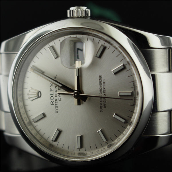 Rolex oyster date ref. 115200