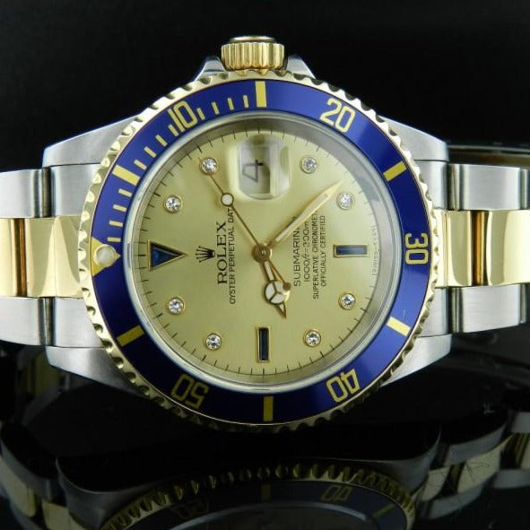 Rolex Submariner ref. 16613 Sultan dial