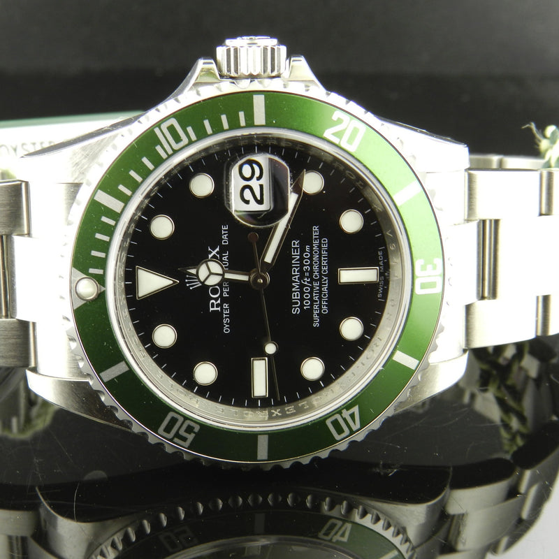 Rolex Submariner ref. 16610LV Fat Four Nos