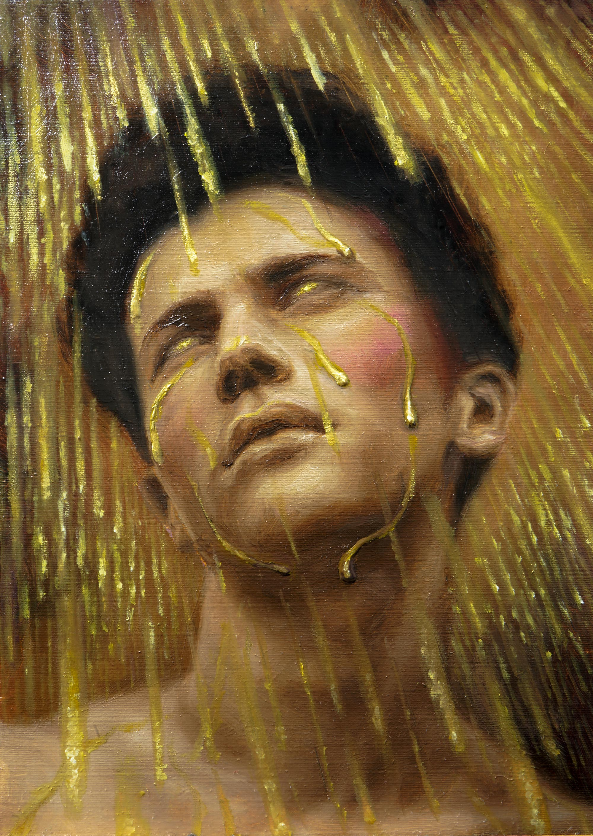The Day It Rains Gold, 2021 | Painting | Original work