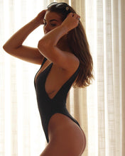 Load image into Gallery viewer, Black Vella One Piece (Reversible)