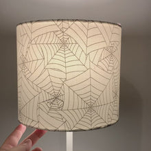 Load and play video in Gallery viewer, Stitched Cobweb Small Lampshade