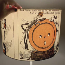 Load and play video in Gallery viewer, Old Mother Goose Vintage Goose Tales Lampshade
