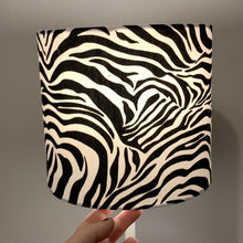 Load and play video in Gallery viewer, Zebra, Animal Print Small Lampshade
