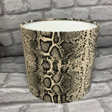 Load image into Gallery viewer, Snake Skin Design Lampshade