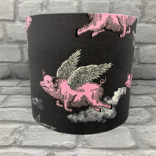 Load image into Gallery viewer, Flying Pig Small Lampshade
