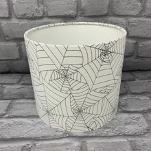 Load image into Gallery viewer, Stitched Cobweb Small Lampshade