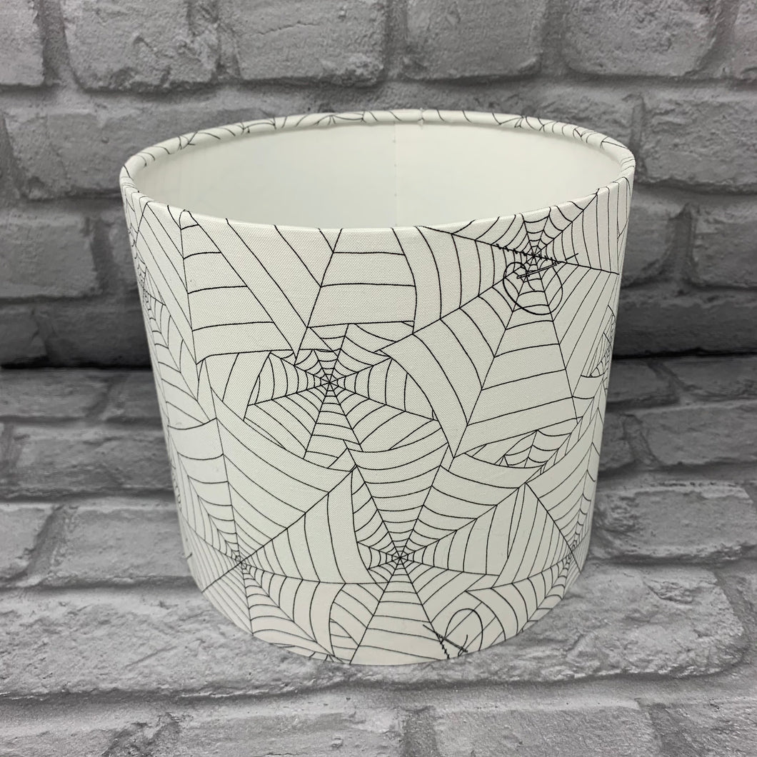 Stitched Cobweb Small Lampshade