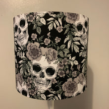 Load image into Gallery viewer, Floral Skull Design Small Lampshade