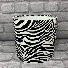 Load image into Gallery viewer, Zebra, Animal Print Small Lampshade