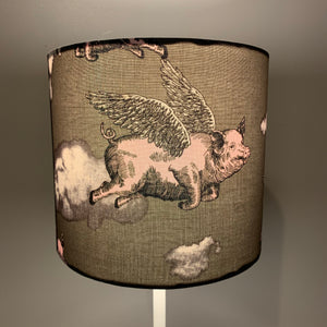 Flying Pig Small Lampshade