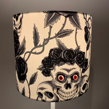 Load image into Gallery viewer, Red Eye Skull Design Small Lampshade