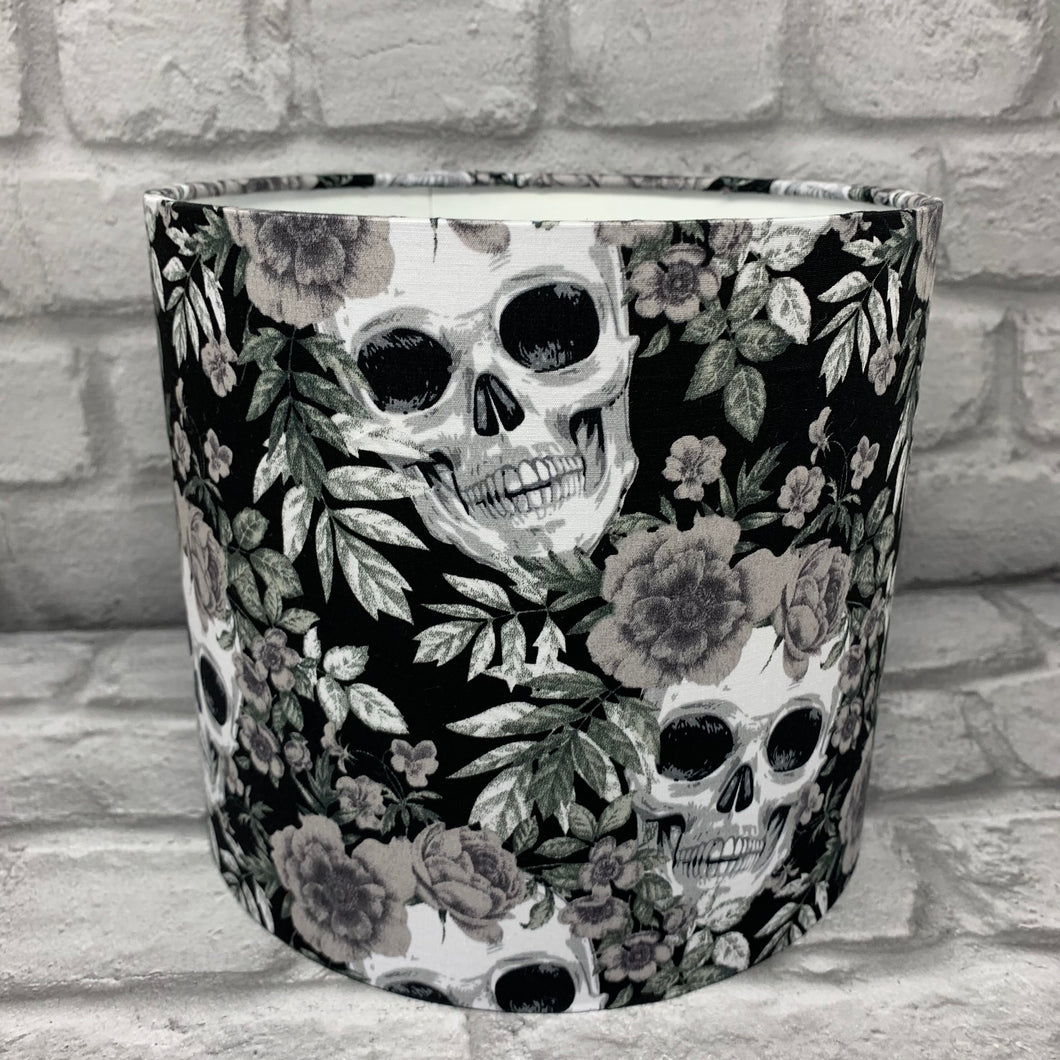 Floral Skull Design Small Lampshade