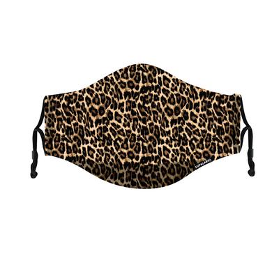 supalabs defend reusable face mask leopard