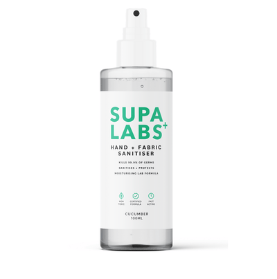 supalabs hand sanitiser spray 100ml