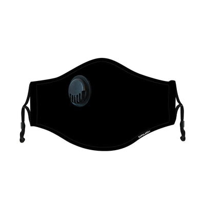 supalabs hero reusable face mask black