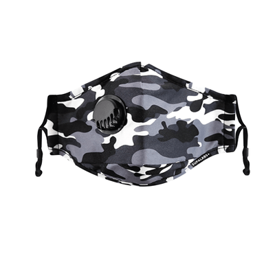supalabs hero reusable face mask camo