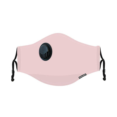 supalabs hero reusable face mask subtle pink