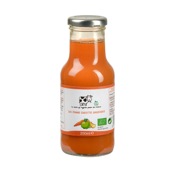 Jus Pomme Carotte Gingembre