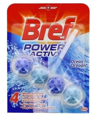Bref Power Active WC Océan (duo pack)