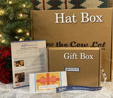 "Perfect Fit Custom Hat Experience with Gift Box 12""x9""x2"""