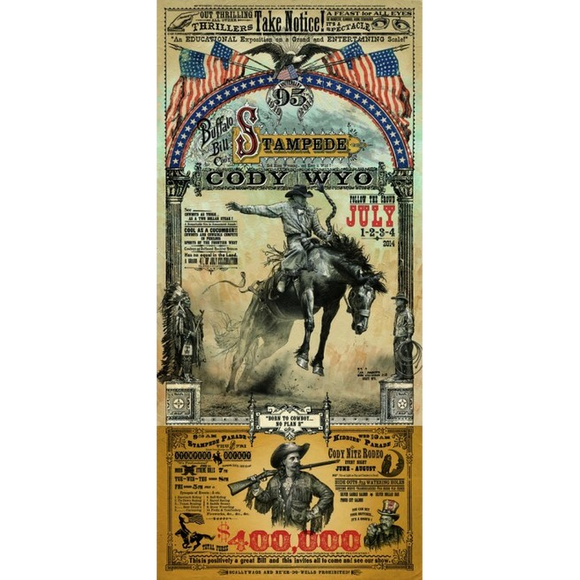 Cody Rodeo Poster