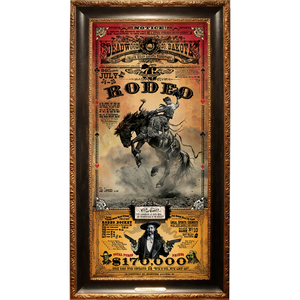 Deadwood Rodeo Poster (frame not included)