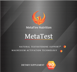 MetaTest - Natural Testosterone Enhancer - MetaFire Nutrition