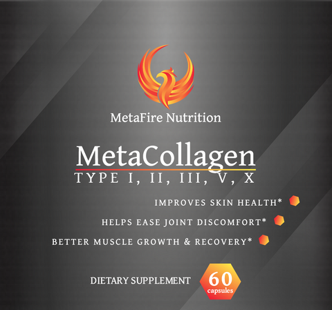 MetaCollagen - Young Skin, Faster Recovery - MetaFire Nutrition